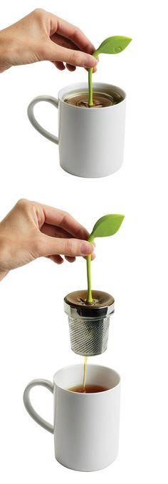 Tea Leaf Infuser // so sweet! #product_design