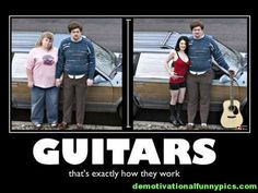 Guitars. That's exactly how they work.