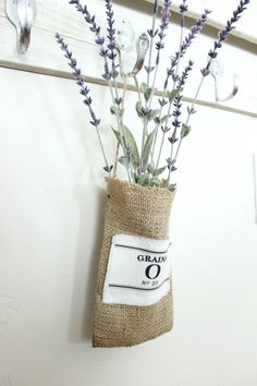 <3 burlap pouch, idea, mini burlap, diy crafts, burlap craftsdecor, grain sack, inspir mini, burlap bags, diy burlap