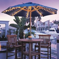 Deluxe Umbrella Lights Only $66.00, FREE Shipping.