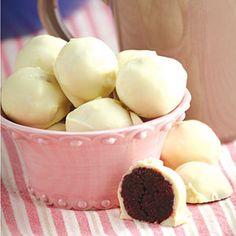 Red Velvet Cake Balls | MyRecipes.com