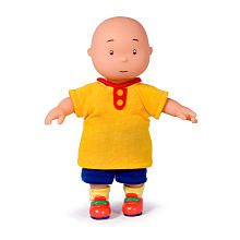 Caillou Small Doll (Colors/Styles Vary)