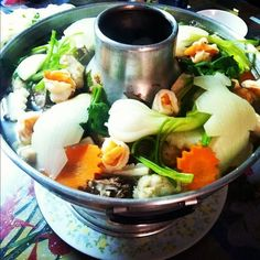 i need a hot pot. easy + healthy