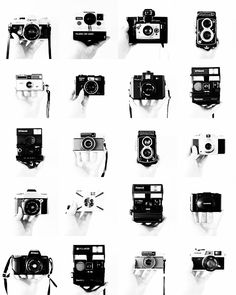 vintag camera, scavenger hunts, vintage cameras, inspiration boards, taking pictures, films, photography, photographi, old cameras