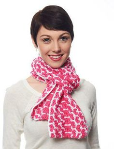 Caron® Simply Soft® Shell Stitch Scarf (Crochet)
