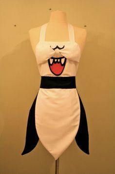 Boo - Super Mario Apron.