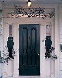 Halloween Owl Free Printable Template #decorating