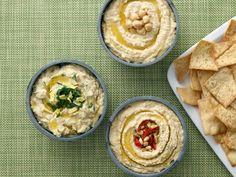 Hummus Trio Recipe : Food Network Kitchen : Food Network - FoodNetwork.com