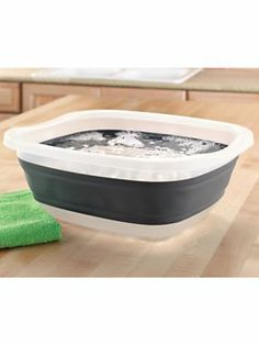 Collapsible Utility Tub | Solutions product, tubs, foot soaking solution, util tub, collaps util