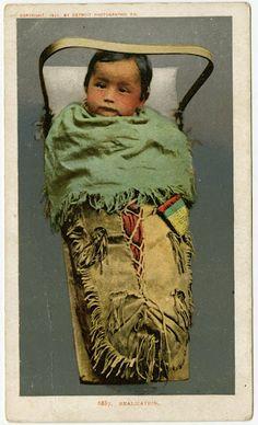 Ojibwa baby – 1903