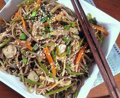 Next Day Soba Noodles with Veggies - 8 Points Plus per serving