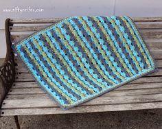Crochet Baby Blue Blanket, http://crochetjewel.com/?p=11850