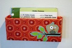A wickedly clever little menu/recipe organizer