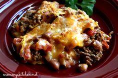 Mommy's Kitchen: Ma maw's Mexican Casserole {aka Dorito Beef Casserole}