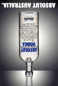 Absolut Vodka - Absolut Australia #Absolut #AbsolutVodka