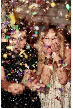 Make a confetti mess. #flashesofdelight