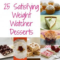 25 Weight Watchers Desserts
