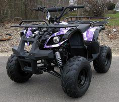 110cc Purple Camo ATV by kari.like.likes, via Flickr