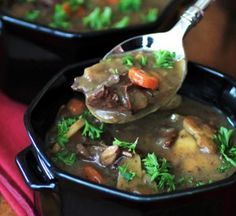Keep this Sunday Supper Beef and Mushroom Soup recipe in your back pocket for times when you're craving easy Sunday night dinner recipes that will delight your whole family. This beef and mushroom soup recipe is delicious and hearty.