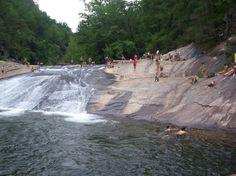 "#Georgia's Bridal Veil Falls made FOX News' list of ""13 beautiful natural swimming holes around the U.S."""
