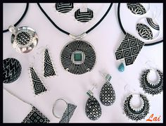 The Black & White Collection  For details write to info@lai-designs.com