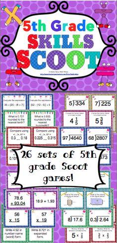 math games for 5th grade, math skill