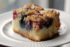 Berry Sourdough Coffee Cake