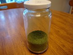 Spinach powder. Good way to add some vits and flav to some dishes.... made in the dehydrator