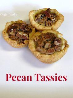 Pecan Tassies
