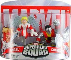 Marvel Superhero Squad Angel & Colossus Mini Figure 2-Pack super hero, mini figur, superhero squad, marvel superhero, da marvel, figur 2pack, favorit toy, boneco da, marvelici super