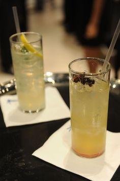 2 Parts GREY GOOSE® Cherry Noir Flavored Vodka, 1 part fresh pineapple juice, ¾ part fresh lemon juice and ½ part anise syrup.