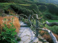 Natural Branch Fencing