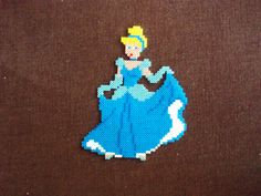 Cinderella Hama Beads - Enjoy the HandMade