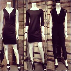 Having trouble deciding what to wear for your date night tonight? We suggest an LBD...or LBJ (little black jumpsuit).