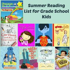 Summer Reading List for Kids: 30 Great Books for Preschool and Grade School Kids
