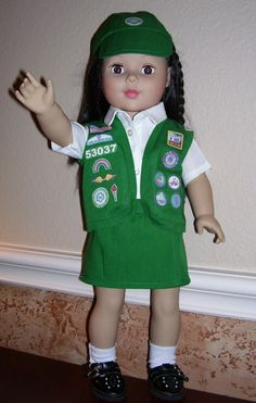 another girl scout outfit