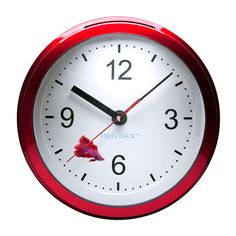 Betta Fish Clock Red now featured on Fab.