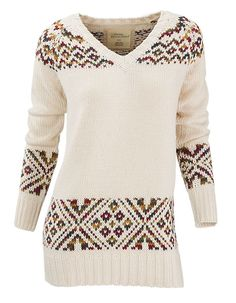 Natural Reflections Fair Isle Sweater for Ladies | Bass Pro Shops