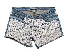 DIY Crochet Shorts - Chart ❥ 4U // hf