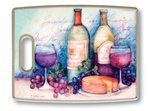 Polyworks Wine & Cheese Cutting Board by Polyworks. $11.99. Classic & trend-forward designs. Double-sided allows for prep and serving. Lightweight with ergonomically designed handle. Won't dull knives, non-skid. Resist odors, non-porous, dishwasher safe. Wine and Cheese Cutting / Serving Board