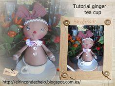El rincón de Chelo: Tutorial - Ginger Tea Cup