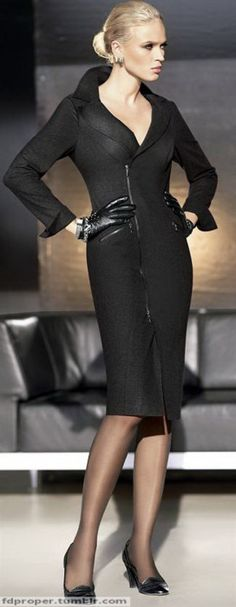 power dressing, fashion, dresses classic, style, black suit for women, christian louboutin shoes, office wear, black suits for women, black dress