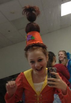 Seussical Hair
