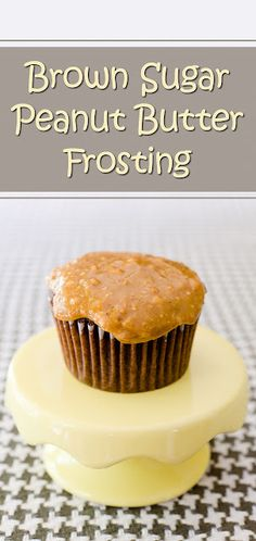 Brown Sugar Peanut Butter Frosting Recipe | Cupcake Project