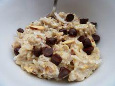 Cookin' Cowgirl: Almond Joy Oatmeal
