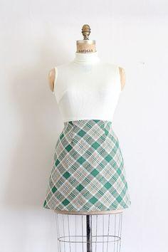 vintage 1960s dress // 60s mini turtleneck dress // by TrunkofDresses