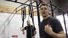 Ring Dips - Technique WOD 90