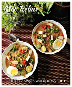 Noodles In Sweet Potatoes Gravy–Mee Rebus (马来卤面)  #guaishushu #kenneth_goh  #mee_rebus   #mee_jawa  #mie_celor