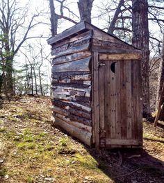 Blue Beach Outhouse, Nova Scotia, Canada. ;)