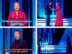 I think that might be my reaction if I met Julie Andrews
